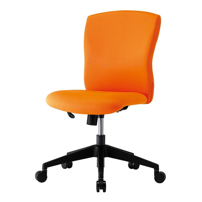 【法人様限定】【直送便】【送料無料】【期間限定特価】井上金庫販売 回転椅子 JUC-06ORオレンジ
