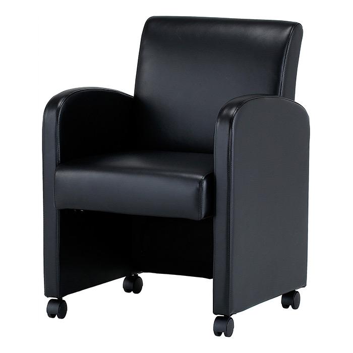 【法人様限定/直送便】 井上金庫販売 会議椅子BAT-470