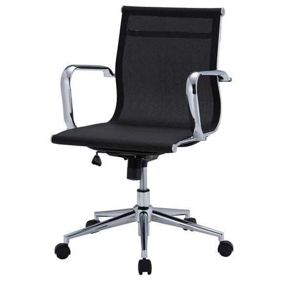 東京23区近郊限定配送 井上金庫販売 ローバックチェア APS-M01メッシュタイプ|オフィスチェア デスクチェア メッシュチェア パソコンチェア 事務椅子 肘付き 高さ調整機能 肘掛け 学習椅子 学習チェア