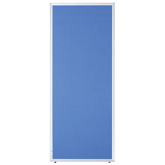 【法人様限定/直送便】 井上金庫販売 ローパーテーション UK-1806BLブルー 幅600×高さ1800×パネル厚21mm