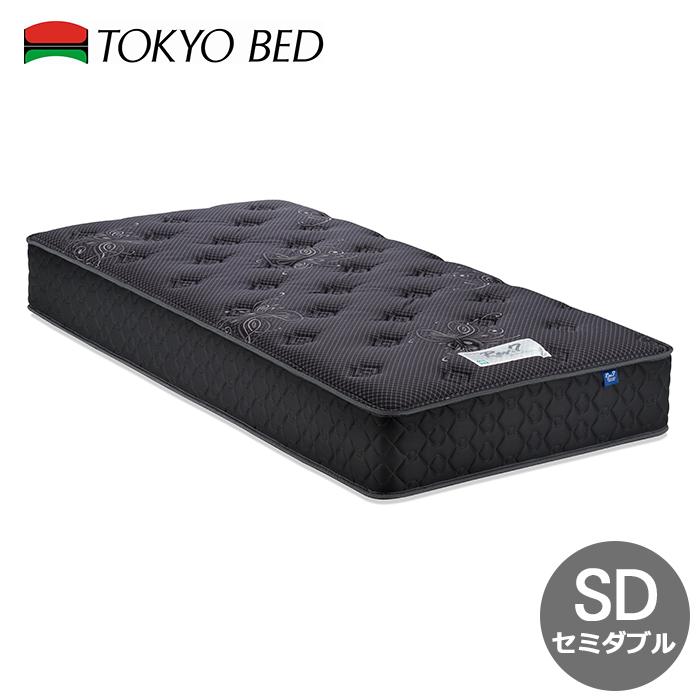 東京23区近郊限定配送 送料無料 お取り寄せ 特価 東京ベッド セミダブル マットレス Rev.7 シルバーラベル ハード