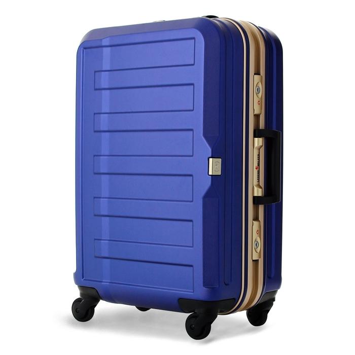 【直送便】【送料無料!】LEGEND WALKER 5088-60 61L ネイビー レジェンドウォーカー スーツケース 旅行 かわいい 軽量 機内持ち込み サイズ 3泊-5泊