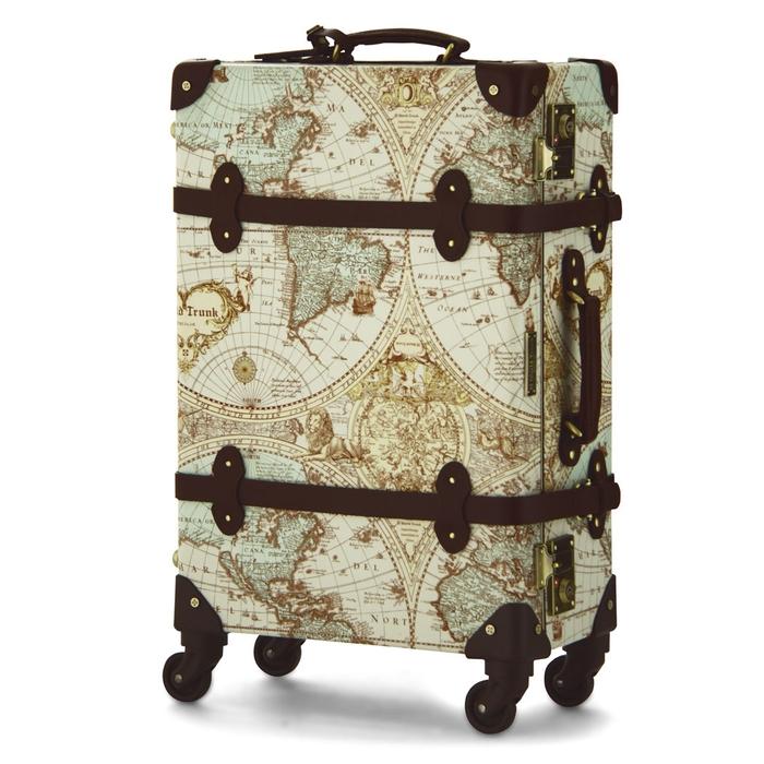 【直送便】【送料無料!】WORLD TRUNK Renaissance 7016-47 29L ブラウン レジェンドウォーカー スーツケース 旅行 かわいい 軽量 機内持ち込み サイズ 日帰り-1泊