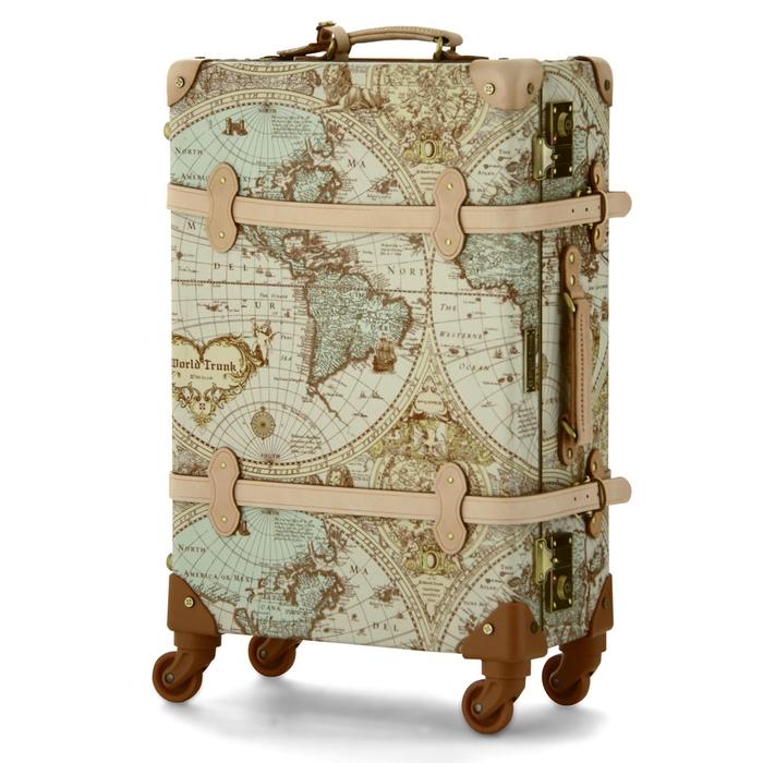 【直送便】【送料無料!】WORLD TRUNK Renaissance 7016-47 29L ヌメ|レジェンドウォーカー スーツケース 旅行 かわいい 軽量 機内持ち込み サイズ 日帰り-1泊