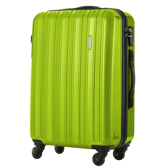 【直送便】【送料無料!】LEGEND WALKER 5096-58 58L グリーン|レジェンドウォーカー スーツケース 旅行 かわいい 軽量 機内持ち込み サイズ 3泊-5泊