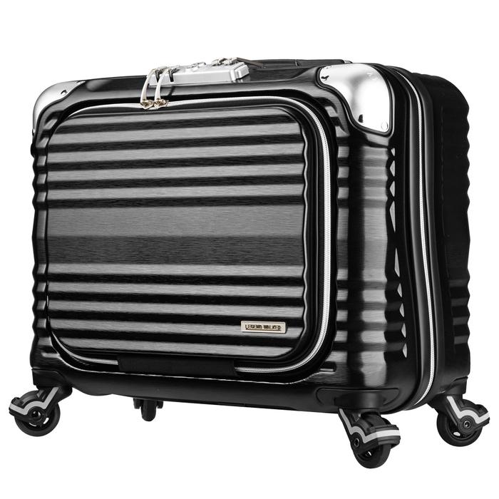 【直送便】【送料無料!】LEGEND WALKER GRAND BLADE6606 6606-44 34L ブラック|レジェンドウォーカー スーツケース 旅行 かわいい 軽量 機内持ち込み サイズ 1泊-3泊