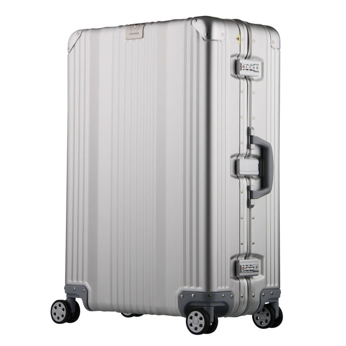 【直送便】【送料無料!】LEGEND WALKER 1510-48 36L シルバー|レジェンドウォーカー スーツケース 旅行 かわいい 軽量 機内持ち込み サイズ 1泊-3泊