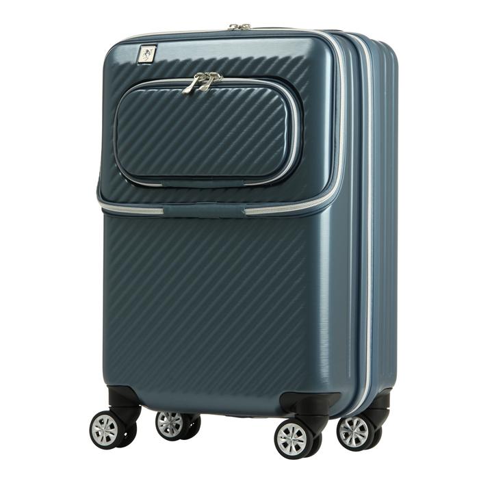 【直送便】【送料無料!】LEGEND WALKER 6024-48 34L ブルー レジェンドウォーカー スーツケース 旅行 かわいい 軽量 機内持ち込み サイズ 1泊-3泊