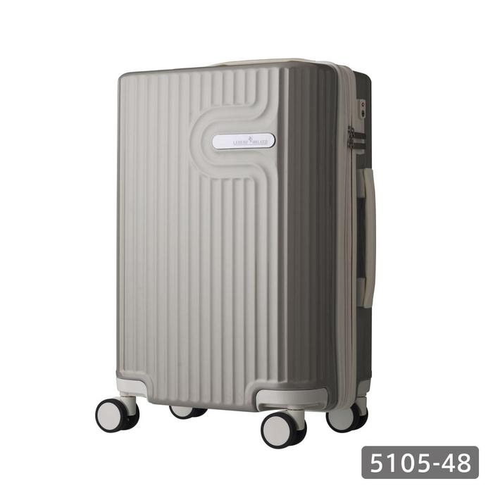 【直送便】【送料無料!】LEGEND WALKER WORLD MELODY LYRA 5105-48 35L グレー レジェンドウォーカー スーツケース 旅行 かわいい 軽量 機内持ち込み サイズ 1泊-3泊