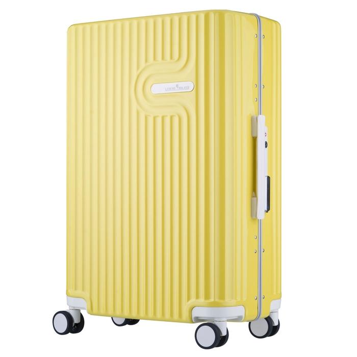 【直送便】【送料無料!】LEGEND WALKER WORLD MELODY LYRA 5105-60 56L イエロー|レジェンドウォーカー スーツケース 旅行 かわいい 軽量 機内持ち込み サイズ 3泊-5泊