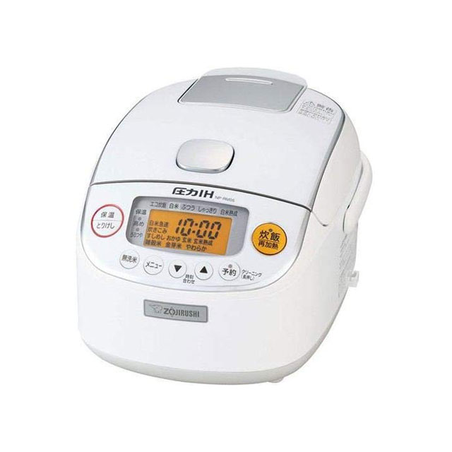【送料無料】象印 圧力IH炊飯ジャー 極め炊き NP-RM05-WA ホワイト 3合炊き ZOJIRUSHI|お米