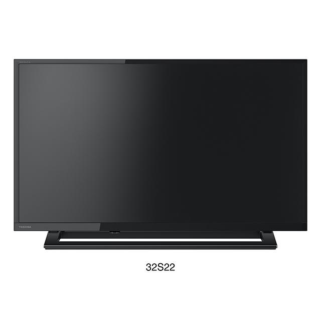 【送料無料】東芝 32V型 LED液晶テレビ 32S22 TOSHIBA REGZA|地上デジタル BS 110度CSチューナー