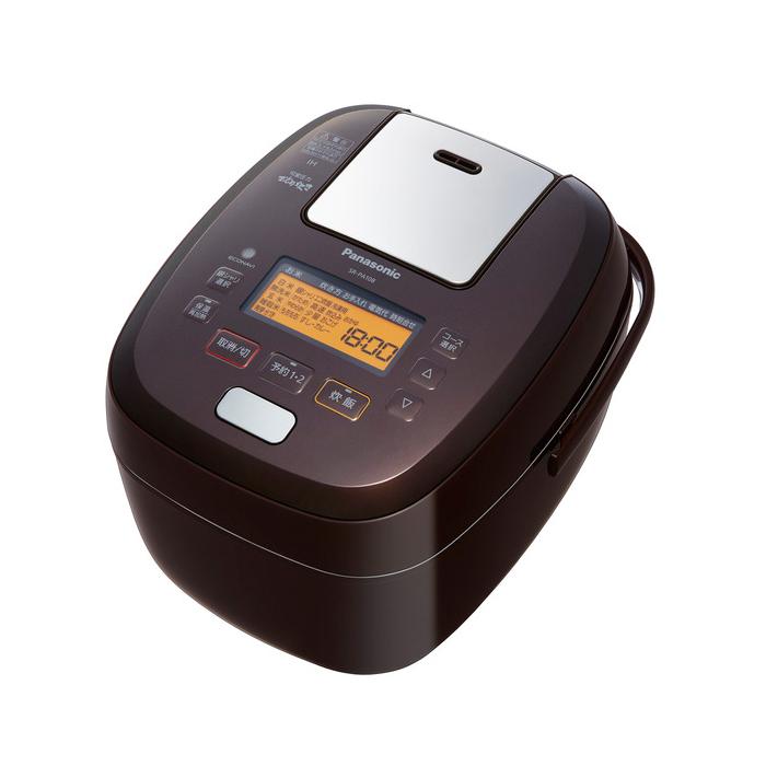 送料無料 パナソニック SR-PA108-T ブラウン 可変圧力IHジャー炊飯器 5.5合炊き Panasonic SRPA108 可変圧力おどり炊き|炊飯ジャー 圧力IH炊飯器 日本製