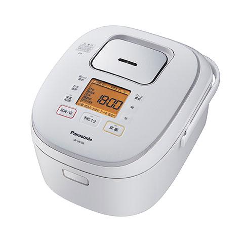 【送料無料】パナソニック IHジャー炊飯器 SR-HB108-W ホワイト 5.5合炊き Panasonic SRHB108