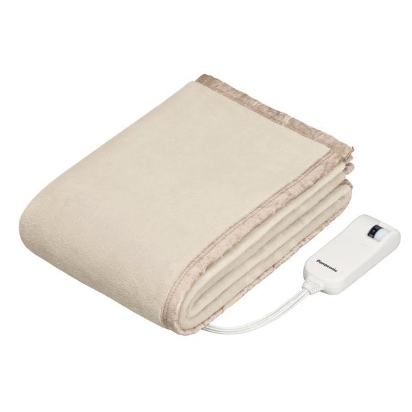 送料無料 パナソニック DB-UM4LS-C ベージュ 電気しき毛布 シングルLSサイズ Panasonic DBUM4LS 電気毛布 160×85cm|電気敷き毛布 暖房用品