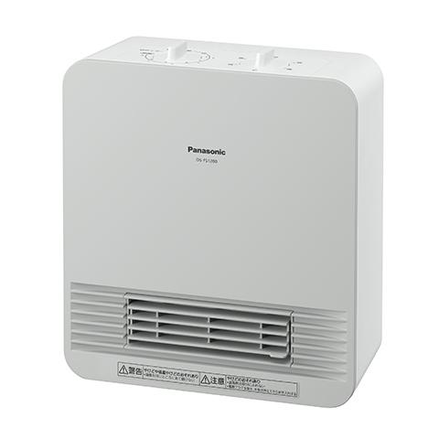 送料無料 パナソニック DS-FS1200-W ホワイト セラミックファンヒーター Panasonic DS-FS1200|暖房器具 暖房機器