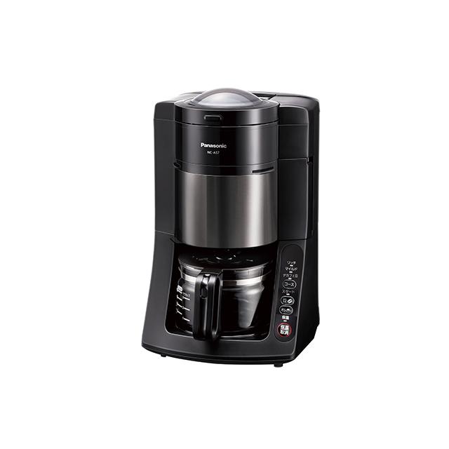 パナソニック 沸騰浄水全自動コーヒーメーカー NC-A57-K ブラック Panasonic NCA57