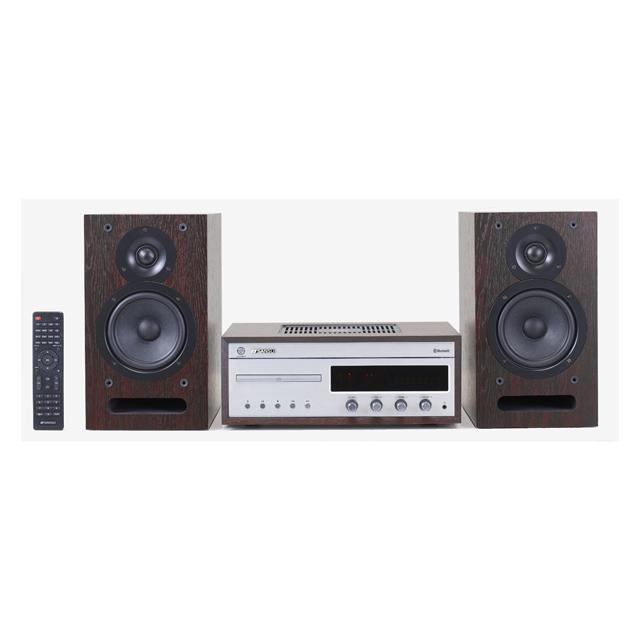 【送料無料】SANSUI サンスイ Bluetooth機能搭載 CDシステムステレオ SMC-500BT|真空管ハイブリッド CDプレイヤー