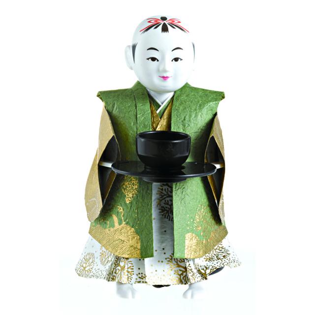 直送便・代引不可 【送料無料】 大人の科学マガジン ミニ茶運び人形 完全復刻版 tlktya