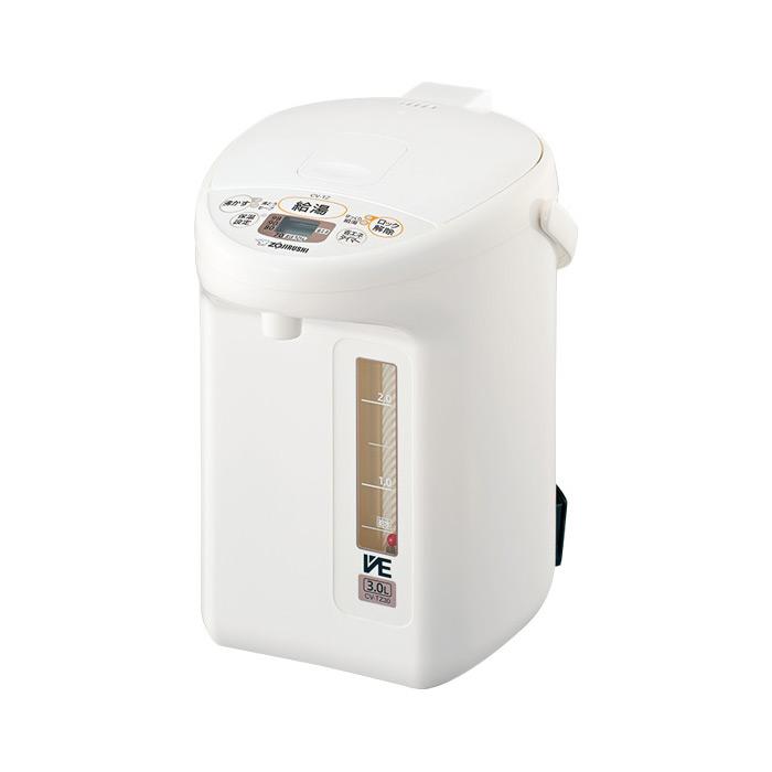 送料無料 象印 CV-TZ30-WA ブラウン マイコン沸とう VE電気まほうびん ZOJIRUSHI CVTZ30 優湯生 電気ポット 3L