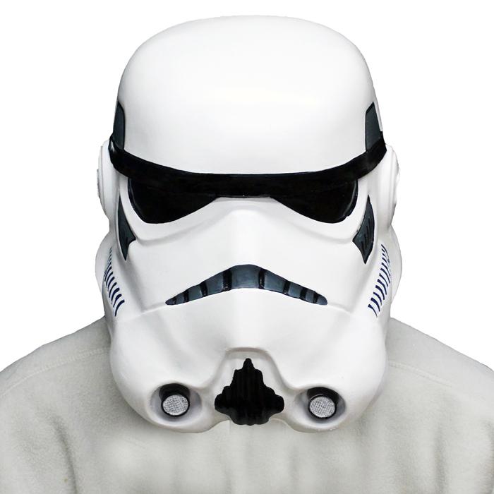 【送料無料】ストームトルーパー コスプレ スターウォーズ STAR WARS  コスプレ かぶりもの マスク おもしろ 面白い ハロウィン パーティー誕生日 新年会 忘年会 宴会 変装