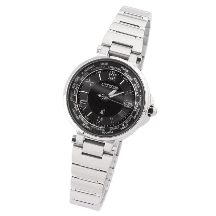 【送料無料】シチズン EC1010-57F レディース腕時計 エコ・ドライブ電波腕時計 クロスシー ハッピーフライト