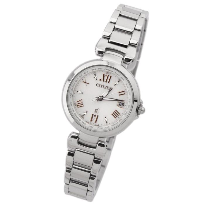【送料無料】シチズン EC1030-50A レディース腕時計 エコ・ドライブ電波腕時計 クロスシー ハッピーフライト