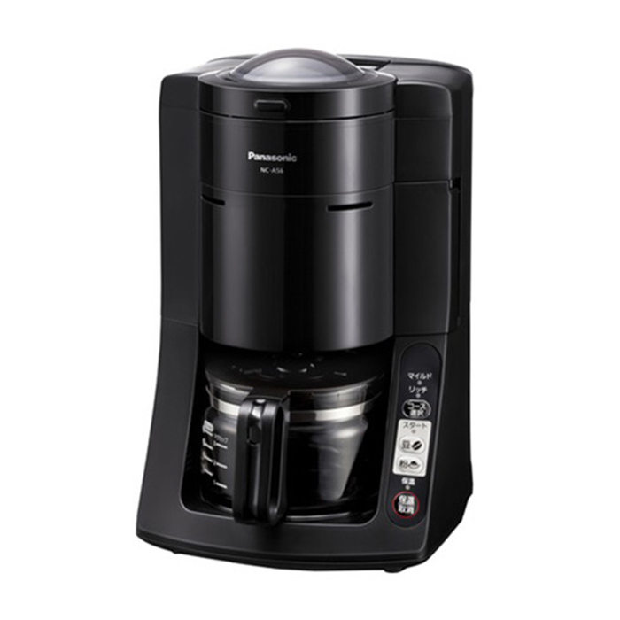 【送料無料】パナソニック NC-A56-K 沸騰浄水コーヒーメーカー ブラック【Panasonic NCA56K】