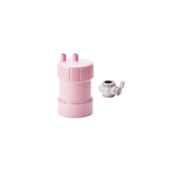 【送料無料】KITZ PF-P4(ピンク)カートリッジ浄水器(蛇口直結+据置型)ピュリフリー【キッツマイクロフィルター Purifree PFP4】