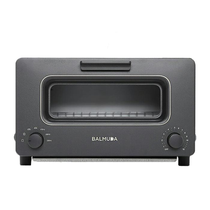 送料無料バルミューダ K01E-KG ブラック スチームトースター 「BALMUDA The Toaster」