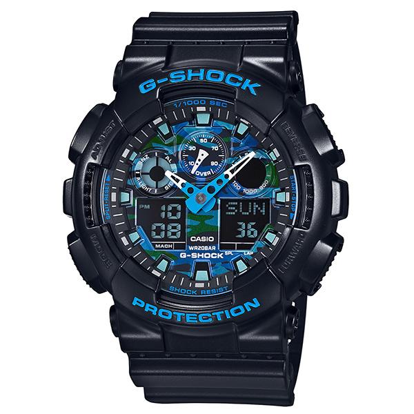取寄品 【送料無料!】カシオ GA-100CB-1AJF メンズ腕時計 Gショック