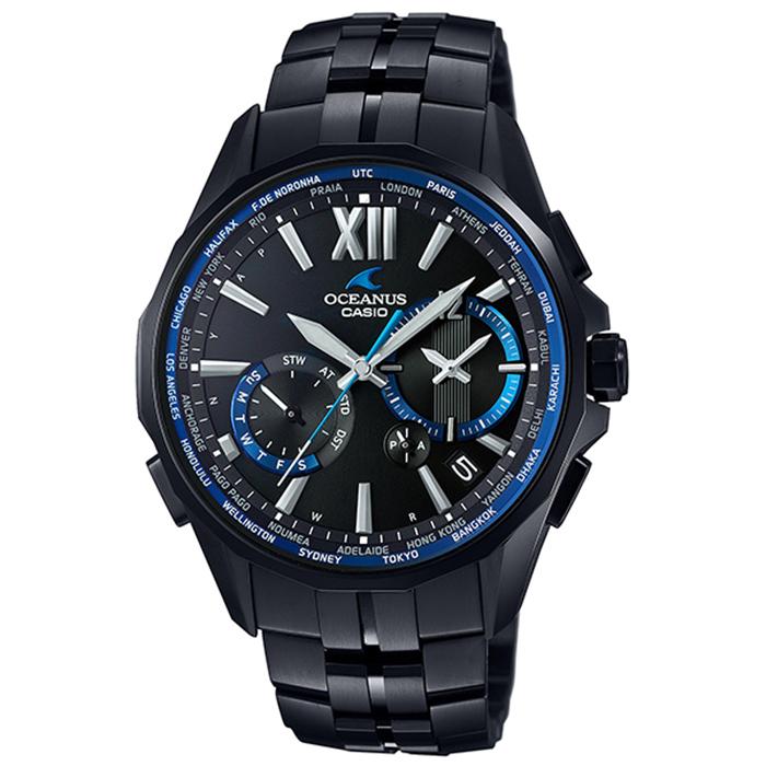 【送料無料】カシオ OCW-S3400B-1AJF メンズ腕時計 オシアナス マンタ