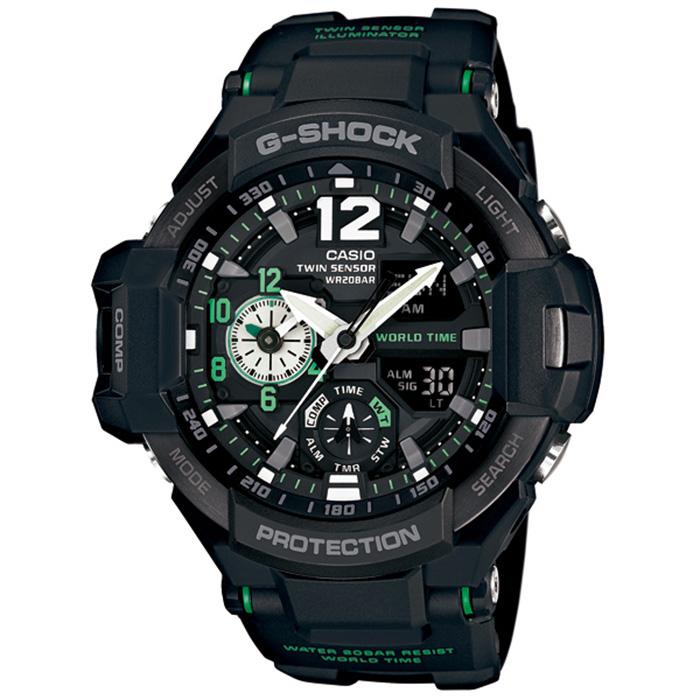 【送料無料】カシオ GA-1100-1A3JF メンズ腕時計 Gショック スカイコックピット【CASIO GA11001A3JF G-SHOCK SKYCOCKPIT】