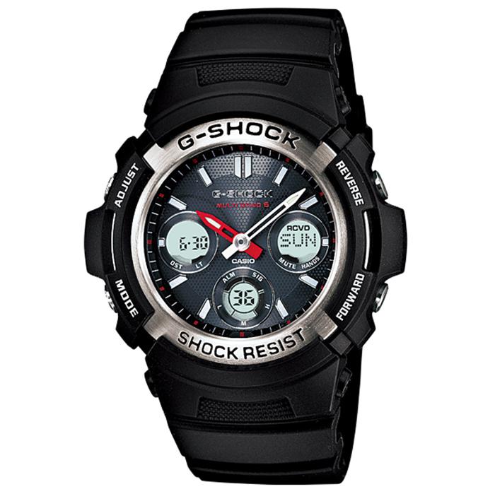 【送料無料】カシオ AWG-M100-1AJF メンズ腕時計 Gショック マルチバンド6【CASIO AWGM1001AJF G-SHOCK MULTIBAND6】