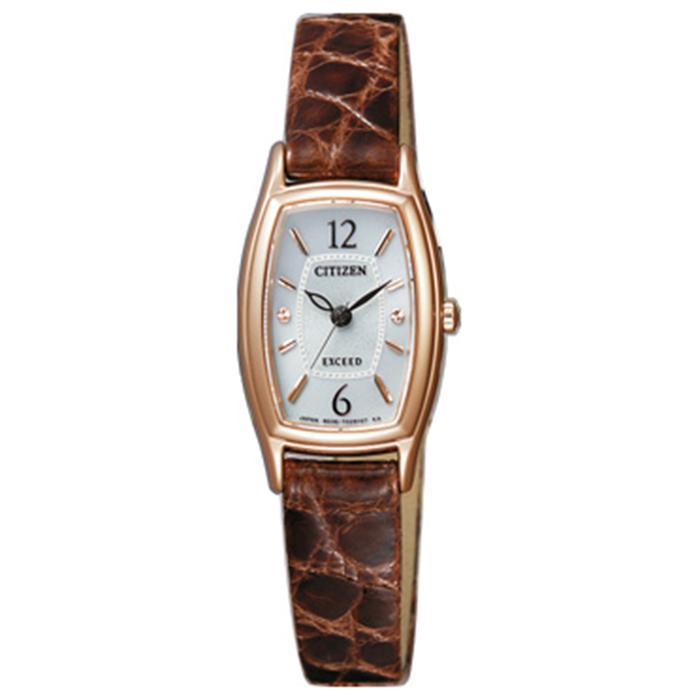 【送料無料】シチズン EX2002-03A レディース腕時計 エクシード【CITIZEN エクシード EX2002-03A エコドライブ時計 】