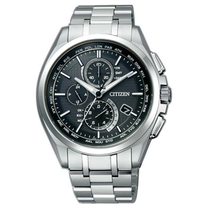 【送料無料】シチズン AT8040-57E メンズ腕時計 アテッサ【CITIZEN ATTESA AT8040-57E エコドライブ電波時計 】