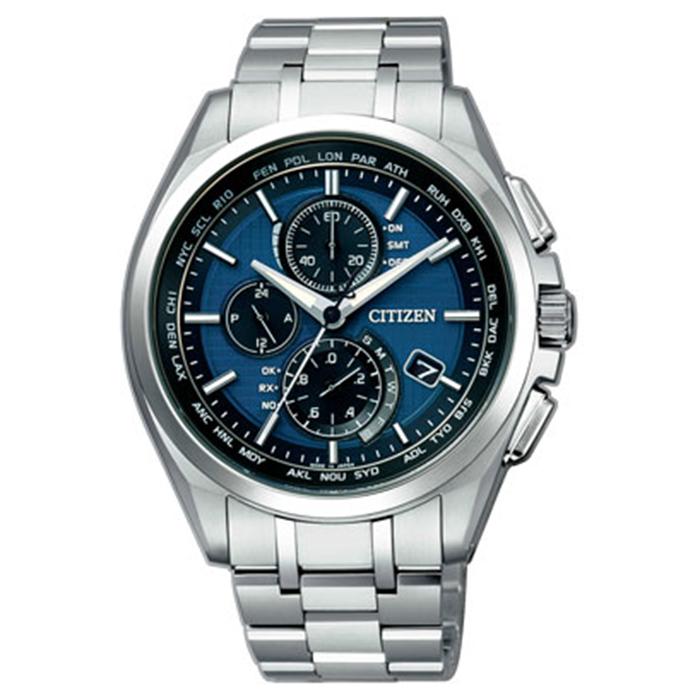 【送料無料】シチズン AT8040-57L メンズ腕時計 アテッサ【CITIZEN アテッサ AT8040-57L エコドライブ電波時計 】