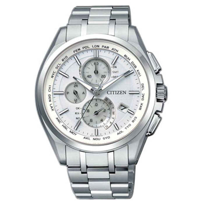 【送料無料】シチズン AT8040-57A メンズ腕時計 アテッサ【CITIZEN ATTESA AT8040-57A エコドライブ電波時計 】