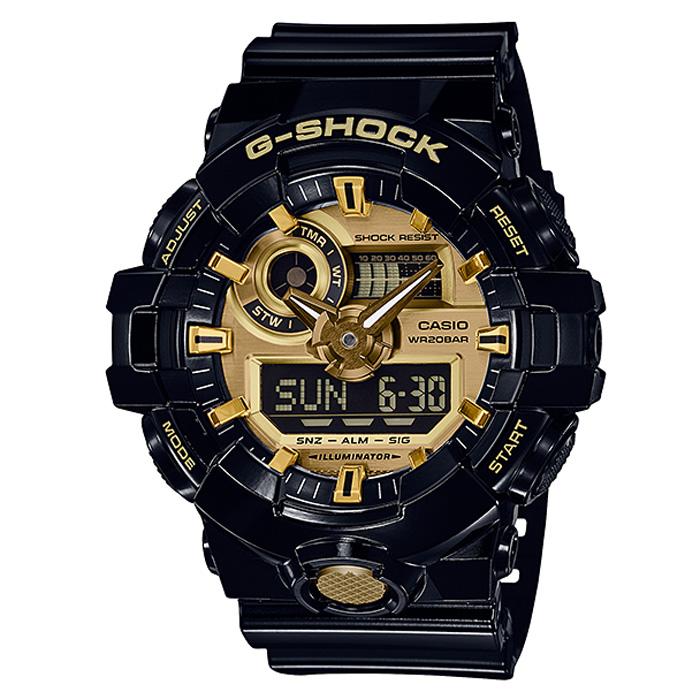 【送料無料】カシオ GA-710GB-1AJF メンズ腕時計 Gショック