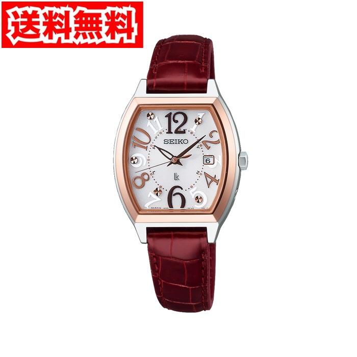 【送料無料】セイコー SSVW094 レディース腕時計 ルキア