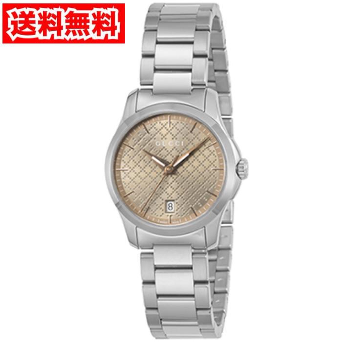 【送料無料!】グッチ YA126594 レディース腕時計 Gタイムレス
