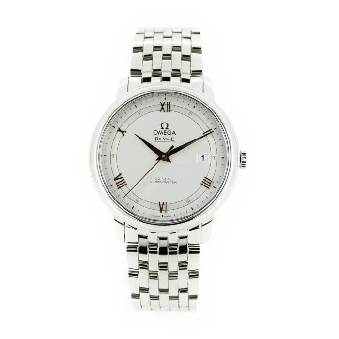 【送料無料!】オメガ 424.10.40.20.02.002 メンズ腕時計 デ・ビル OMLOPD