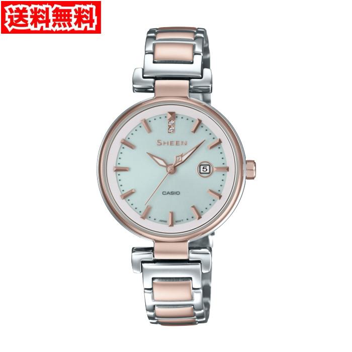 【送料無料!】カシオ SHS-4524SCG-7AJF レディス腕時計 シーン