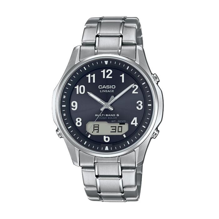 【送料無料!】カシオ LCW-M100TSE-1A2JF メンズ腕時計 LINEAGE|リニエージ CASIO 電波 ソーラー 電波時計 アナデジ タフソーラー 2018