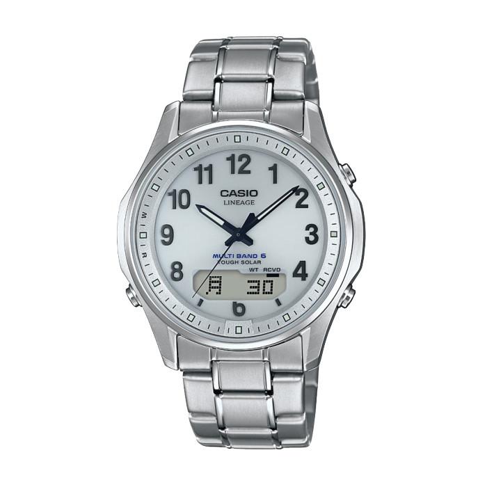 【送料無料!】カシオ LCW-M100TSE-7AJF メンズ腕時計 LINEAGE|リニエージ CASIO LINEAGE 電波 ソーラー アナデジ タフソーラー 2018