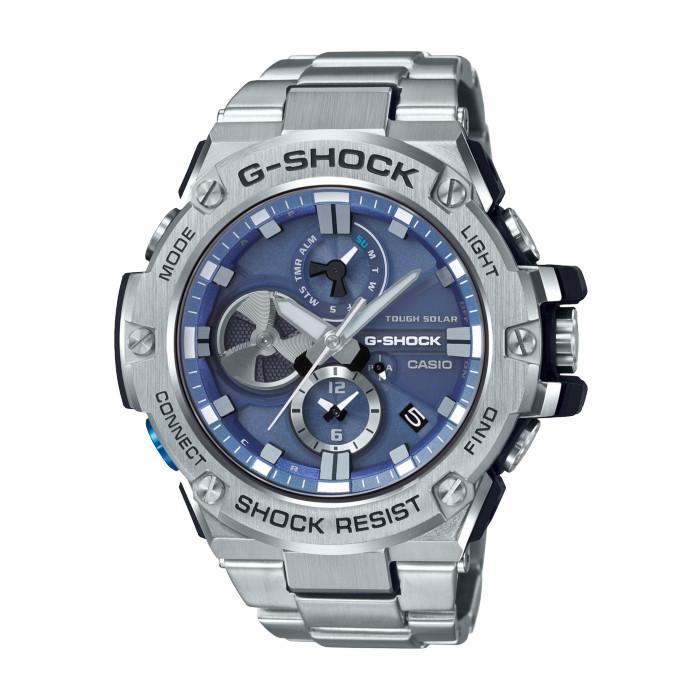 【送料無料!】カシオ GST-B100D-2AJF メンズ腕時計 G-SHOCK|CASIO G-ショック 男性 G-STEEL Gスチール Bluetooth タフソーラー モバイルリンク機能