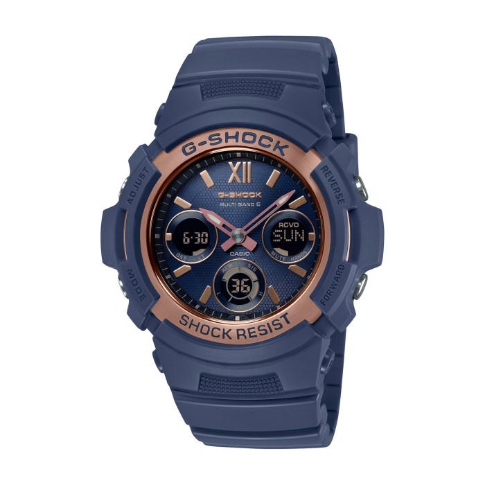 【送料無料!】カシオ AWG-M100SNR-2AJF メンズ腕時計 Gショック