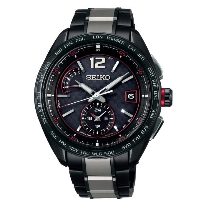 【送料無料!】セイコー SAGA267 メンズ腕時計 ブライツ|SEIKO BRIGHTZ 電波ソーラー ワールドタイム フライトエキスパートデュアルタイム ブルー blue 2018 新作