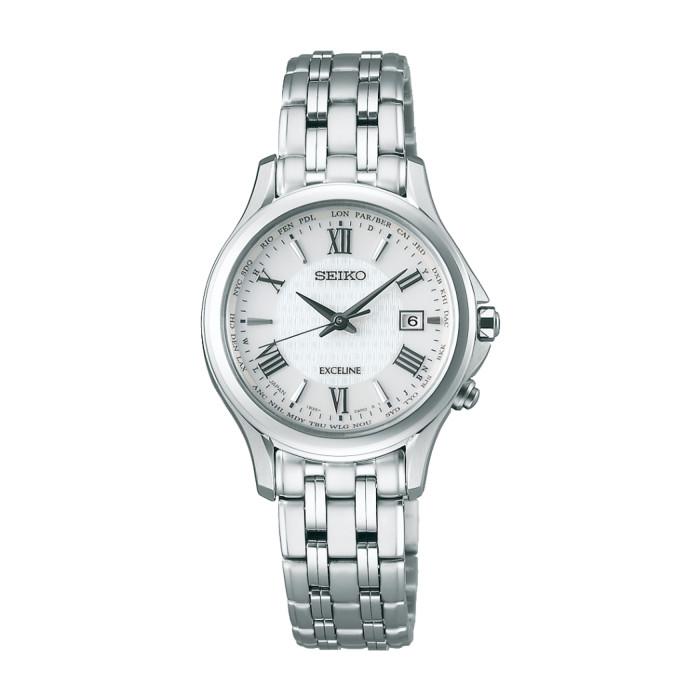 【送料無料!】セイコー SWCW161 レディース腕時計 エクセリーヌ