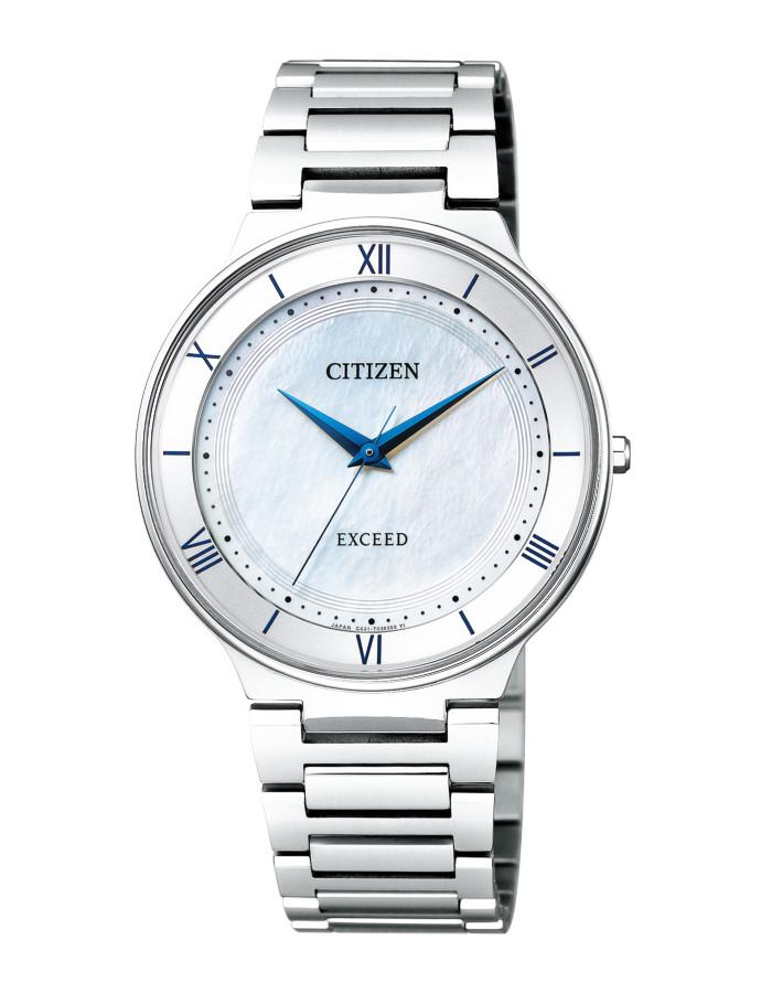 【送料無料!】シチズン AR0080-58A メンズ腕時計 エクシード|CITIZEN EXCEED 男性 エコ ドライブ サファイアガラス 白蝶貝文字板 5気圧防水
